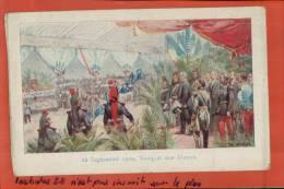 CPA MILITARIA,   BANQUET DES MAIRES En 1900, Par  Pichot,    CHROMOS, AVRIL 2013 175 - Ilustradores & Fotógrafos