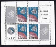 ESPACIO/RUMANÍA 1969 - Yvert #H74 - MLH * - Espacio