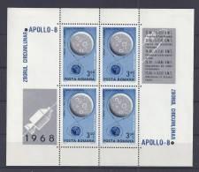 ESPACIO/RUMANÍA 1969 - Yvert #H70 - MLH * - Espacio