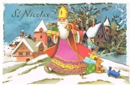 La Saint Nicolas - Carte IDA N° 755 - Auguri - Feste