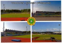 AK Voralpen-Stadion Postkarte Vöcklabruck 1. FC SV ASKÖ Vöcklabrucker SC Fußball Österreich Austria Stadium Stade Stadio - Fussball