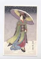 ART--A BEAUTY KIKUGAWA   --RECTO/ VERSO  ---100.35 - Pittura & Quadri