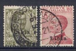 Libia 1917 Sass.18/19 Usati/Used VF/F - Libye