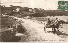 1912 - ATTELAGE Descente Vers Plage Du RIS - Douarnenez