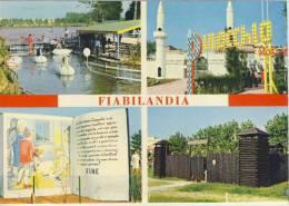 RIMINI - RICCIONE - Fiabilanda Rivazzurra - 1972, Viste Panoramiche Multiple - Rimini