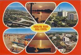 ROSOLINA MARE - Rosa Pineta - Ca 1985, Viste Panoramiche Multiple - Rovigo