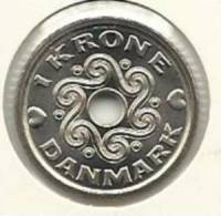 DENMARK 1 KRONE 2006 PICK KM873.2 UNC X 10 PCS - Dinamarca