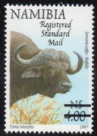 Namibia - 2005 Surcharges Registered Std Mail On $4 (**) # SG 1003 , Mi 1175 - Namibie (1990- ...)