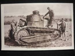 BELLE CARTE POSTALE CHAR RENAULT FT 17 guerre 14-18      #5