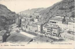 38 - ISERE - VIENNE -  FAUBOURG  PONT - EVEQUE - TB - - Vienne