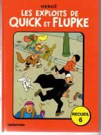 QUICK ET FLUPKE RECUEIL N°6 - Quick Et Flupke