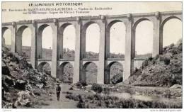 87 SAINT-SULPICE-LAURIERE - Viaduc De Rocherolles Sur La Gartempe - Ligne De Paris à Toulouse. - France
