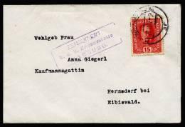 A1820) Austria Österreich Brief Von Marburg 23.2.1917 Mit Zensur Marburg Seltene Stempeltype !! - 1850-1918 Imperium