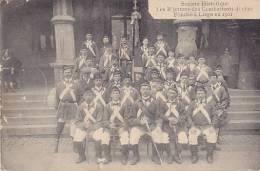 Société Historique Les R'jettons Des Combattants Di 1830, Fondée à Liège En 1901 (belle Animation) - Liege