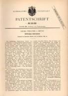 Original Patentschrift - G. Wellner In Brünn / Brno , 1884 , Unterseeboot , U-Boot , Boot !!! - Boats