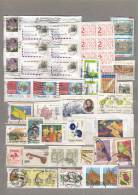 WORLDWIDE MONDE WELT Modern Used (o) Stamps On Paper Lot #16719 - Timbres