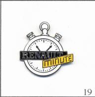 PIN´S  Automobile - Renault Service Minute / Chronomètre. Non Estampillé. EGF. T030-19 - Renault