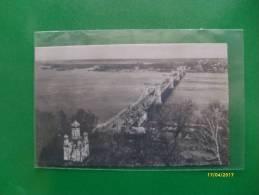 Feldpostkarte KIEW Dnjepr Mit Kettenbrucke Edizione Feldbuchanndlung Der Bugarmee - Ukraine