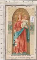 PO9049B# SANTINO - MADONNA  NOSTRA SIGNORA DELLE GRAZIE - PARROCCHIA CROCETTA-TORINO S.Lega Eucaristica - Images Religieuses