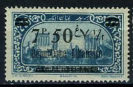 1927 - LIBANO - LEBANON - Scott Nr. 83  - Mi 113 -  LH  - (S21042013.....) - Liban