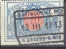 _Yb193: N° TR38: 5 ANTWERPEN - C. N°2 // 5 ANVERS - C.N°2 - Spoorwegen
