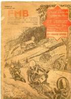 Revue N°29 Juillet 1933 FMB Moto Grand Prix Belgique Spa Malmedy Pub Page Entière Ou Part. FN Saroléa Ariel Gillet - Titres De Transport