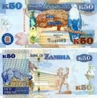 ZAMBIA New 50 Kwacha 2012 **UNC** - Zambia