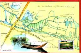Feuillet Gommé Illustré Timbre 2006 HORTILLONNAGES-Amiens-Jardins-Fleurs- Voir Description - Carnaval