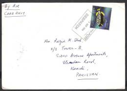 Fishes, Postal History Cover From MALDIVEs ISLAND 2008 - Fishes