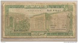 Libano - Banconota Circolata Da 5 Livres - Libano