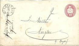1868 Tüblibrief Von Langenthal Nach Ruegsau Bei Burgdorf - Enteros Postales