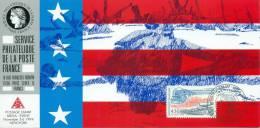 124 Carte Officielle Exposition Internationale Exhibition New York 1994 FDC World War Stars And Stripes USA Flag - Ersttagsbelege (FDC)