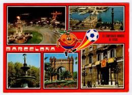 Postcard - Barcelona, Espana 82, Mundial      (V 17577) - Fútbol