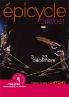 CP Publicitaire - Epicycle Cirkvost - Cirque - Acrobates - Cirque