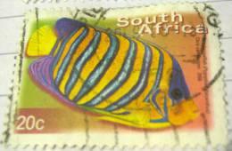 South Africa 2000 Fish Royal Angelfish 20c - Used - Afrique Du Sud (1961-...)