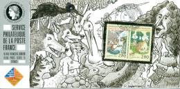 136C Carte Officielle Exposition Internationale Exhibition Sindelfingen 1995 FDC Oiseau Bird Vogel Rabe Rave Corbeau