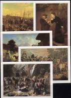 500 Jahre Post 1990 Jubiläum-Postkarte 2/01-2/10 ** 12€ Historie Der Post Postkutsche Eisenbahn History Cards Of Germany - Joint Issues