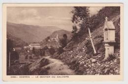 ODEREN - N° 5399 - LE SENTIER DU CALVAIRE - Autres Communes