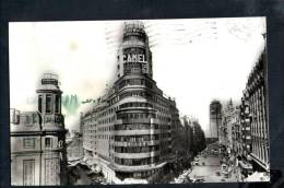 F298 Madrid - Avenida De Jose Antonio Y Capitol - Insegna Camel - Old Mini  Card - Madrid
