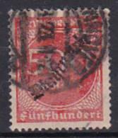 Deutsches Reich Dienst Mi.-Nr. D 81 O - Service