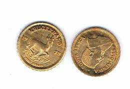 SUD AFRICA - Moneda KRUGERRAND Replica ORO 1978 SC - Sudáfrica