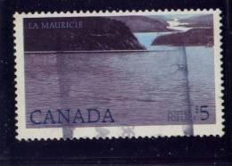 CANADA, 1986, USED #1084, NATIONAL PARKS: LA MAURICIE,    * HAS FATTY LETTERS & # 5 - Oblitérés