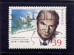 CANADA, 1990, USED #1264,   DR BETHUME  IN CANADA   USED - 1952-.... Règne D'Elizabeth II