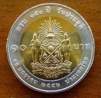 NEU 10 Baht 150. Geb. Onkel Dchaufah Panurangsi Thailand 2013  Nr. 60 - Thaïlande