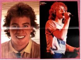 2 Kleine Poster  Leif Carrett ,  Von Bravo Ca. 1982 - Plakate & Poster