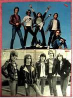 2 Kleine Musik Poster  Gruppe Teens  -  Rückseiten : Peter Maffay + Gregory Peck ,  Von Bravo + Popcorn Ca. 1982 - Plakate & Poster