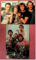 2 Kleine Poster  Gruppe Spliff  ,  1 Rückseite Mr. Spock -  Von Pop Rocky + Bravo Ca. 1982 - Plakate & Poster