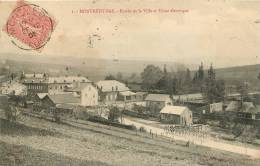 55 MONTMEDY BAS ENTREE DE LA VILLE ET USINE ELECTRIQUE - Montmedy