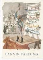 3480/ 1 Publicité, Parfum Lanvin, 1959 - Advertising