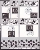 FRANCE - 1er Jour / FDC . - Cinéma - Année 1986  -  10 Cartes    - - FDC